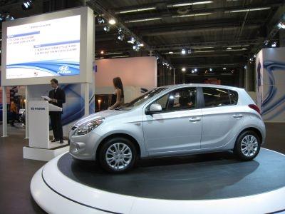 Nuova Hyundai i20: commercializzata a partire dalla fine di gennaio 2009