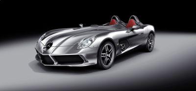 """Mercedes-McLaren SLR Stirling Moss: erede della gloriosa 300 SLR Barchetta """"722"""" del '55"""