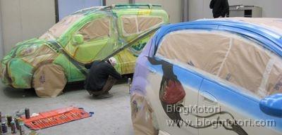 Motor Show di Bologna 2008: FIAT Street Art il 3 dicembre allo stand FIAT