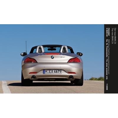 Nuova BMW Z4: il design raccontato in un video