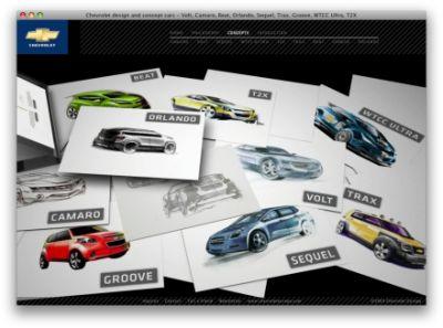 Come nasce il designe di un'automobile? Ce lo spiega Chevrolet