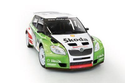 Ecco la Fabia Super 2000 dello Skoda Rally Team Italia