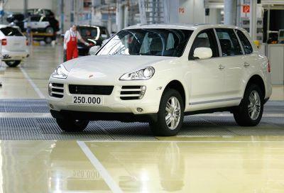 Nuovo record alla Porsche di Lipsia: prodotta la Cayenne n. 250.000