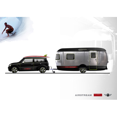 Republic of Fritz Hansen, MINI Cooper S Clubman e Airstream