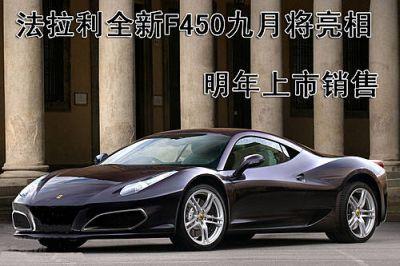 Ferrari F450: l'erede della F430 in un video spia
