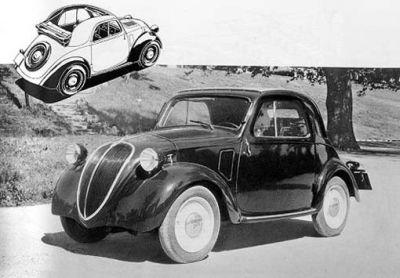 La Fiat Topolino con doppio motore elettrico-benzina presto al debutto
