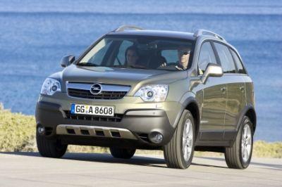 Nuova Opel Antara: anche a trazione anteriore