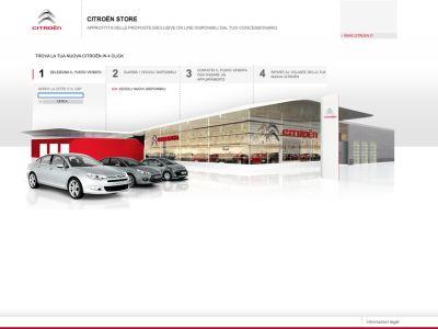 Citroen Italia presenta il nuovo showroom digitale