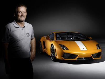 Gallardo LP 550-2 Valentino Balboni: per celebrare il collaudatore più famoso della Lamborghini
