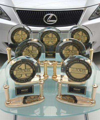 Indagine Qualità Jd Power bene Lexus, Porsche, Cadillac e Hyundai 03