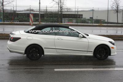Mercedes Classe E Cabriolet alcune foto spia 02