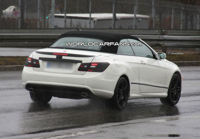 Mercedes Classe E Cabriolet alcune foto spia 03