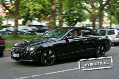 Mercedes Classe E Cabriolet alcune foto spia 04