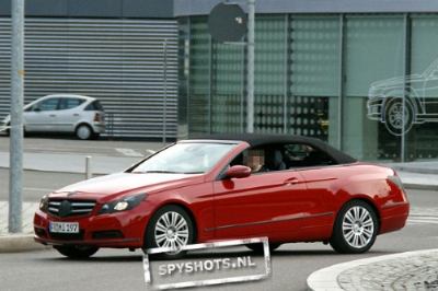 Mercedes Classe E Cabriolet alcune foto spia 06