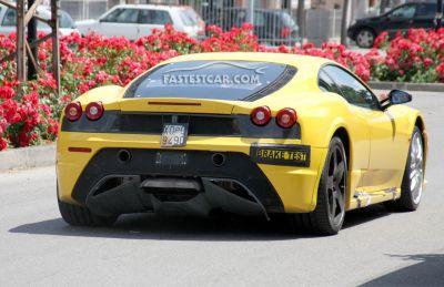 Nuove foto spia dell'erede della Ferrari F430 02