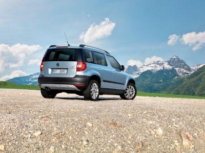 Yeti il SUV compatto Skoda da 18.900 Euro 05