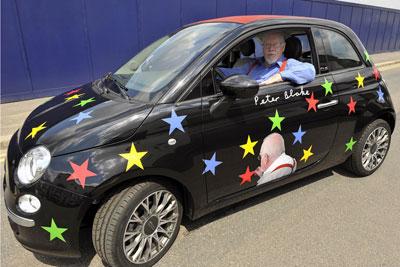 Gran Bretagna: Fiat 500 C venduta a £ 55.000 ad un'asta di beneficenza