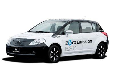 Arriva l'auto elettrica di Nissan - Zero Emission EV 11