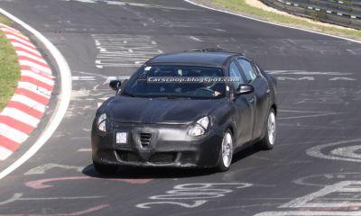 La Nuova Alfa Romeo Milano in pista al Nurburgring