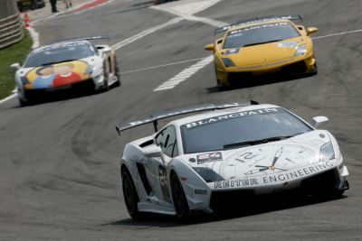 Lamborghini Blancpain Super Trofeo la Gallardo LP 560-4 approda a Spa-Francorchamps