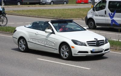 Mercedes Classe E Cabrio nuove foto spia 03