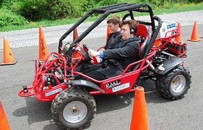 Una vettura per non vedenti è la nuova sfida del Blind Driver Challenge team