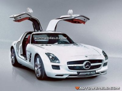 Svelata, in modo ufficioso, la nuova Mercedes SLS AMG Gullwing