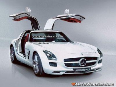 nuova Mercedes SLS AMG Gullwing