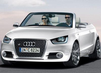 Audi A1 cabrio nuovo render 01
