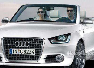Audi A1 cabrio nuovo render 02