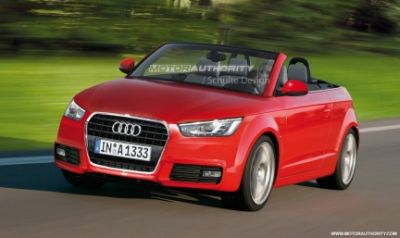 Audi A1 Cabriolet: nuovo render