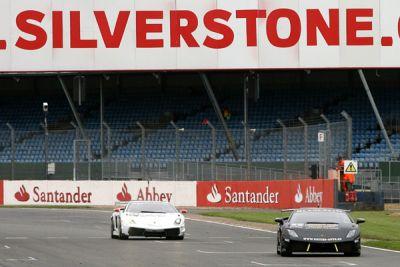 Lamborghini Blancpain Super Trofeo la gara di Silverstone