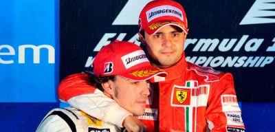 Fernando Alonso e Felipe Massa i piloti Ferrari 2010: ecco il comunicato ufficiale