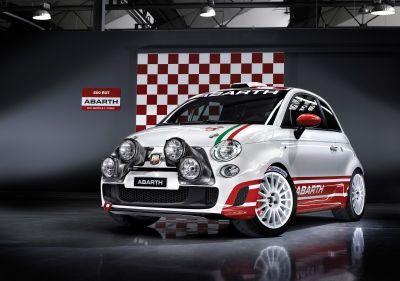 Rally di Sanremo: Abarth 500 R3T