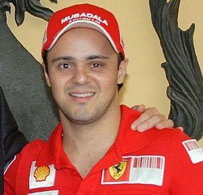 Ferrari F1 Massa torna in pista dopo l'incidente