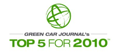 Green Car of the Year 2010 le cinque finaliste