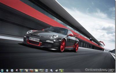 Porsche disponibile il tema per Windows 7