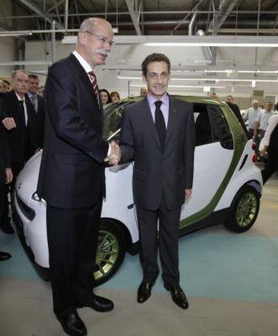 Sarà prodotta in Francia la smart fortwo electric drive