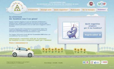 BimbiSicuramente 2009: dal 9 al 15 novembre la sicurezza dei bambini in auto in primo piano