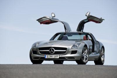 """Volante d'Oro 2009: la Mercedes SLS AMG è stata eletta """"migliore supersportiva del mondo"""""""