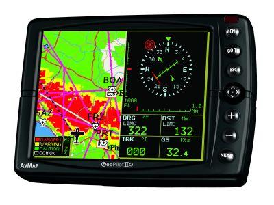 AvMap GeoPilot II Plus GPS per automobili ma anche per alianti e deltaplani