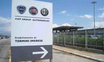 Fiat Termini Imerese non produrrà più auto