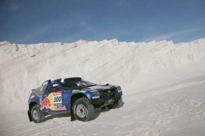 La Volkswagen sulla via del Dakar Rally 2010: le immagini