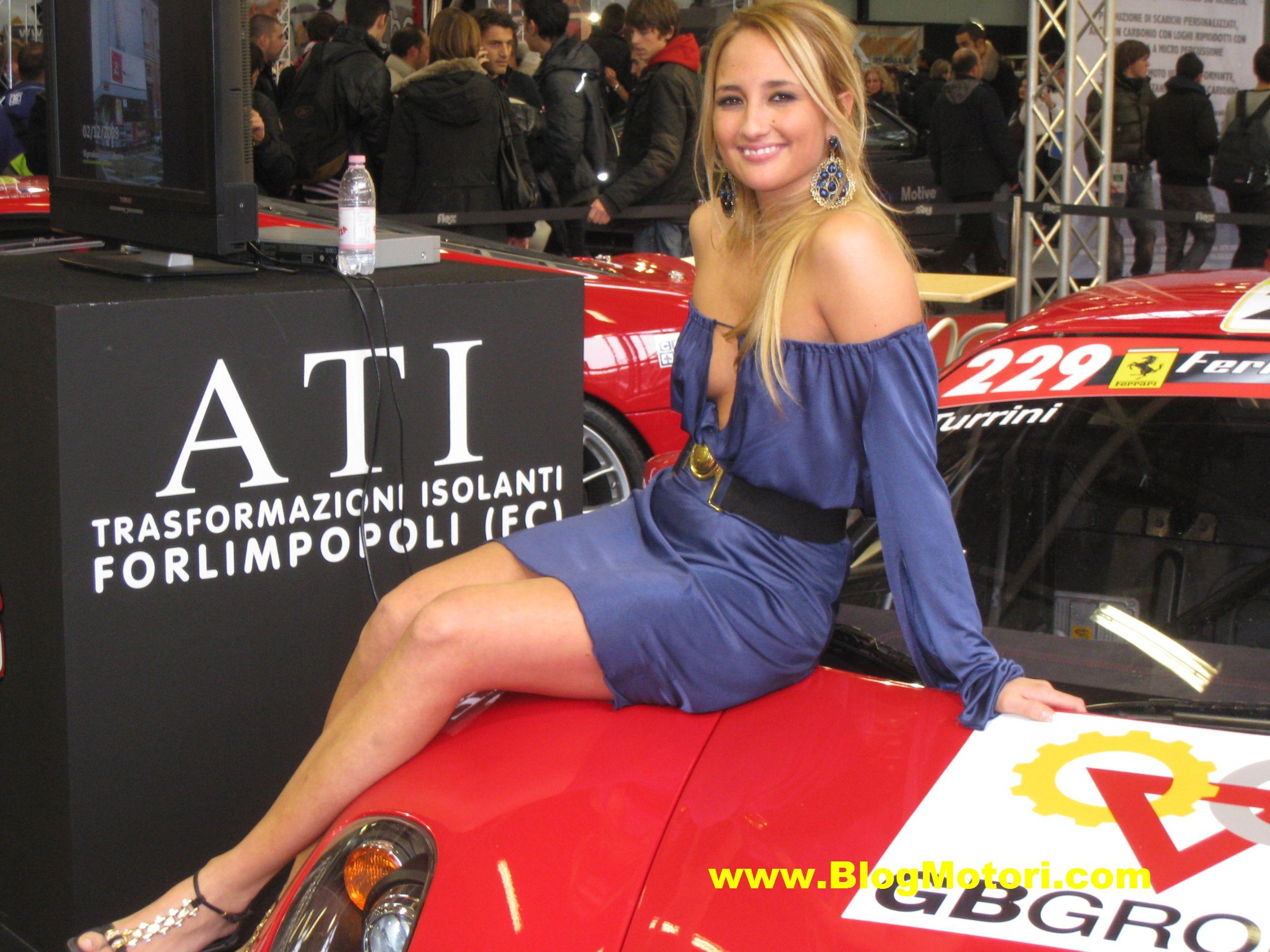 Le ragazze del Motor Show di Bologna 2009 (tutte le immagini live)