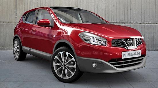 Nuovo Nissan Qashqai: immagini ufficiali e caratteristiche del crossover compatto edizione 2010