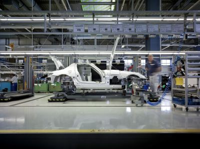 Avviata la produzione in serie della SLS AMG 00