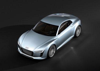 Detroit Auto Show 2010 Showcar Audi e-tron 00
