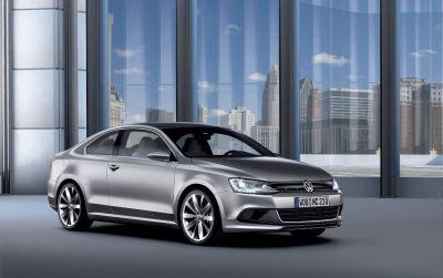 Detroit Auto Show 2010 Volkswagen New Compact Coupe 00