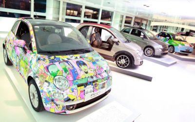 Fiat Marylebone 500 Galley 00
