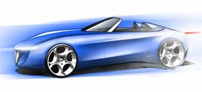 Ginevra 2010: Spider a 2 posti su base Alfa Romeo by Pininfarina